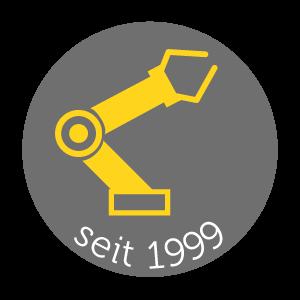 Icon Automatisierung - Roboterarm_Softwareentwicklung & Automatisierung für Maschinenbau und Industrie Marcel Krull- Software