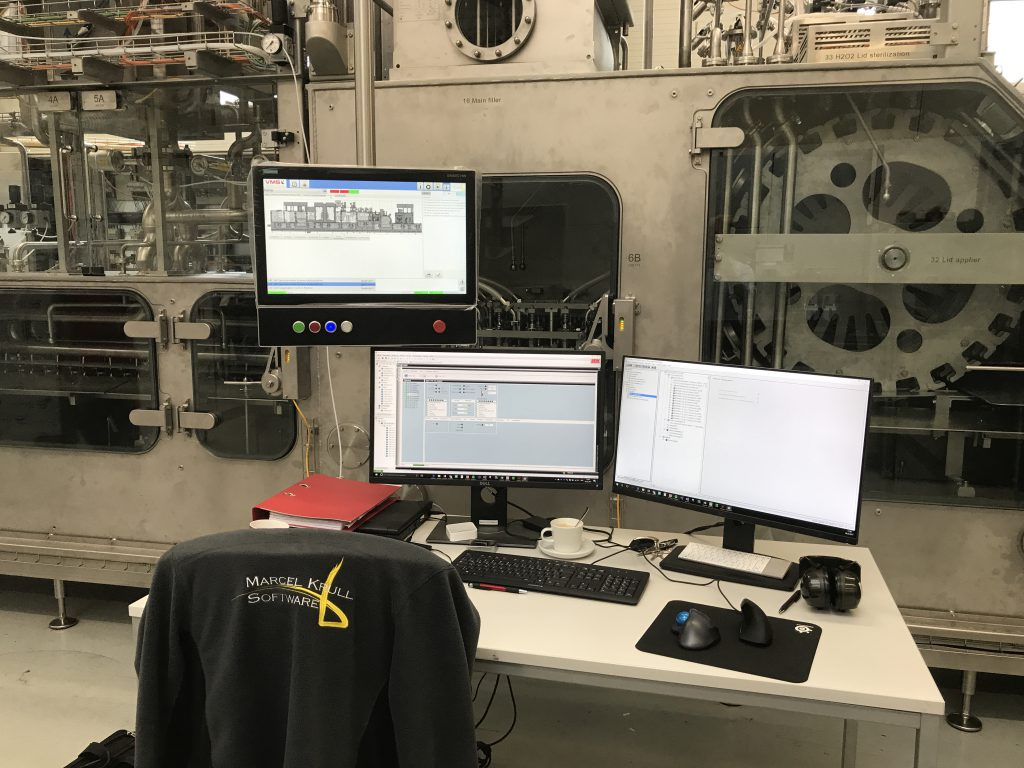 Softwareentwicklung für Maschinenbau, SPS-Programmierung, Automatisierungstechnik_ Marcel Krull- Software