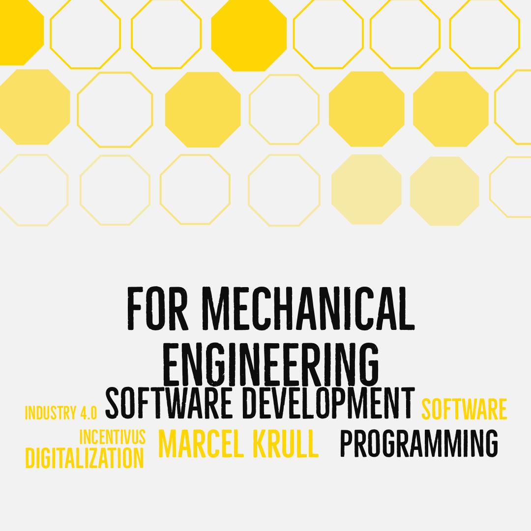 Softwareentwicklung für den Maschinenbau